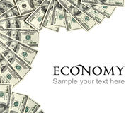 Economy background concept and place for the text Stock Photos