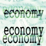Economy background concept Royalty Free Stock Photography