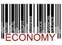 Economy barcode Royalty Free Stock Photos