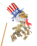 Economy Bleed Stock Photo