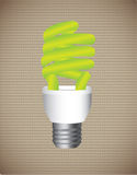 Economy bulb Stock Photography