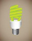 Economy bulb Stock Photography