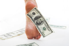 Economy and business  Dollar Royalty Free Stock Images