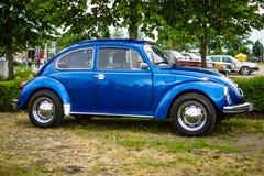Economy car Volkswagen Beetle, 1973. Stock Image