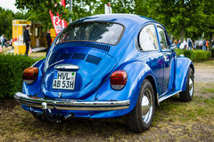 2017: Economy car Volkswagen Beetle, 1973. Royalty Free Stock Photography