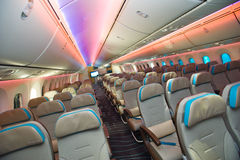 Economy Class Royalty Free Stock Images