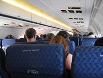 Economy Class stock photo