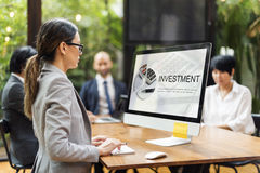 Economy Commerce Money Investment Concept Royalty Free Stock Image