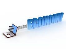Economy concept Royalty Free Stock Photos