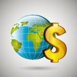 Economy concept design. Illustration eps10 graphic Royalty Free Stock Image