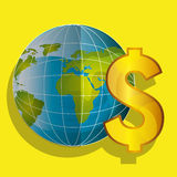 Economy concept design. Illustration eps10 graphic Royalty Free Stock Images