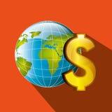 Economy concept design. Illustration eps10 graphic Stock Images