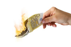 Economy crisis Royalty Free Stock Image