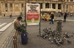 Economy crisis in Italy Stock Photography