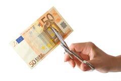 Economy cut Royalty Free Stock Image