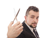 Economy cuts...or tailor? Royalty Free Stock Photos