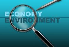 Economy - environment Stock Photo