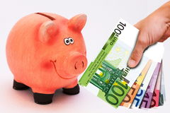 Economy, Euro money stock photography