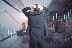 Economy and finance concept royalty free stock image