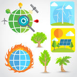 Economy Global vector Royalty Free Stock Photos