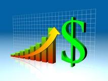 Economy growth Stock Photo