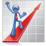 Economy growth Stock Photos