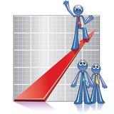 Economy growth Royalty Free Stock Photo