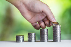 Economy, Investment And Saving Concept Stock Image