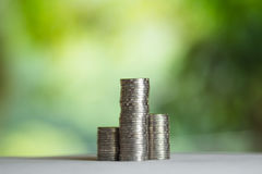 Economy, Investment And Saving Concept Stock Photography