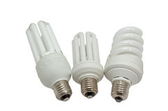 Economy lamps Stock Images
