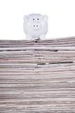 Economy News Stock Photography