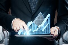 Economy and sales concept Royalty Free Stock Image