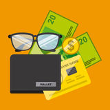 Economy and savings Stock Images