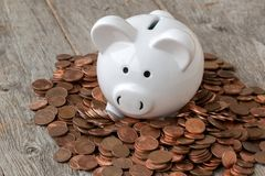 Economy or savings concept stock photography