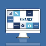 Economy Trade Accounting Finance Concept. Economy Trade Accounting Finance Credit Royalty Free Stock Photos