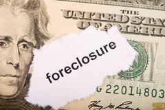 Economy woes. The status of the economy and the worries of the amerian people. Foreclosure Stock Photos