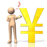 Economy of the yen Royalty Free Stock Photography