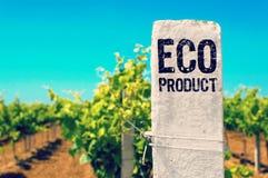 Ecoproduct - Ecologisch Concept Stock Afbeelding