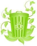 Ecorecycling consept Royalty Free Stock Photography