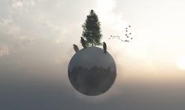 Ecosistema fotografie stock