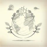ecosysteem Stock Afbeelding