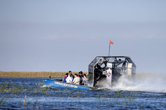 Ecotourism: Everglades Airboat Tour Royalty Free Stock Image