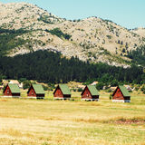 Ecotourism in mountains(Montenegro) Royalty Free Stock Images