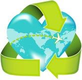 EcoTravel royalty free stock photos