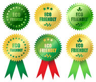 ecovänskapsmatch Royaltyfri Fotografi