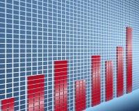Ecovery de la economía ilustración del vector