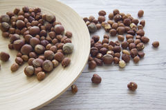 Ecovoedsel: noten Stock Fotografie