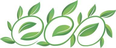 Ecowoord Royalty-vrije Stock Afbeeldingen