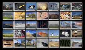 Ecrã panorâmico HD Imagem de Stock