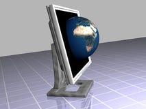Ecrã plano Foto de Stock Royalty Free